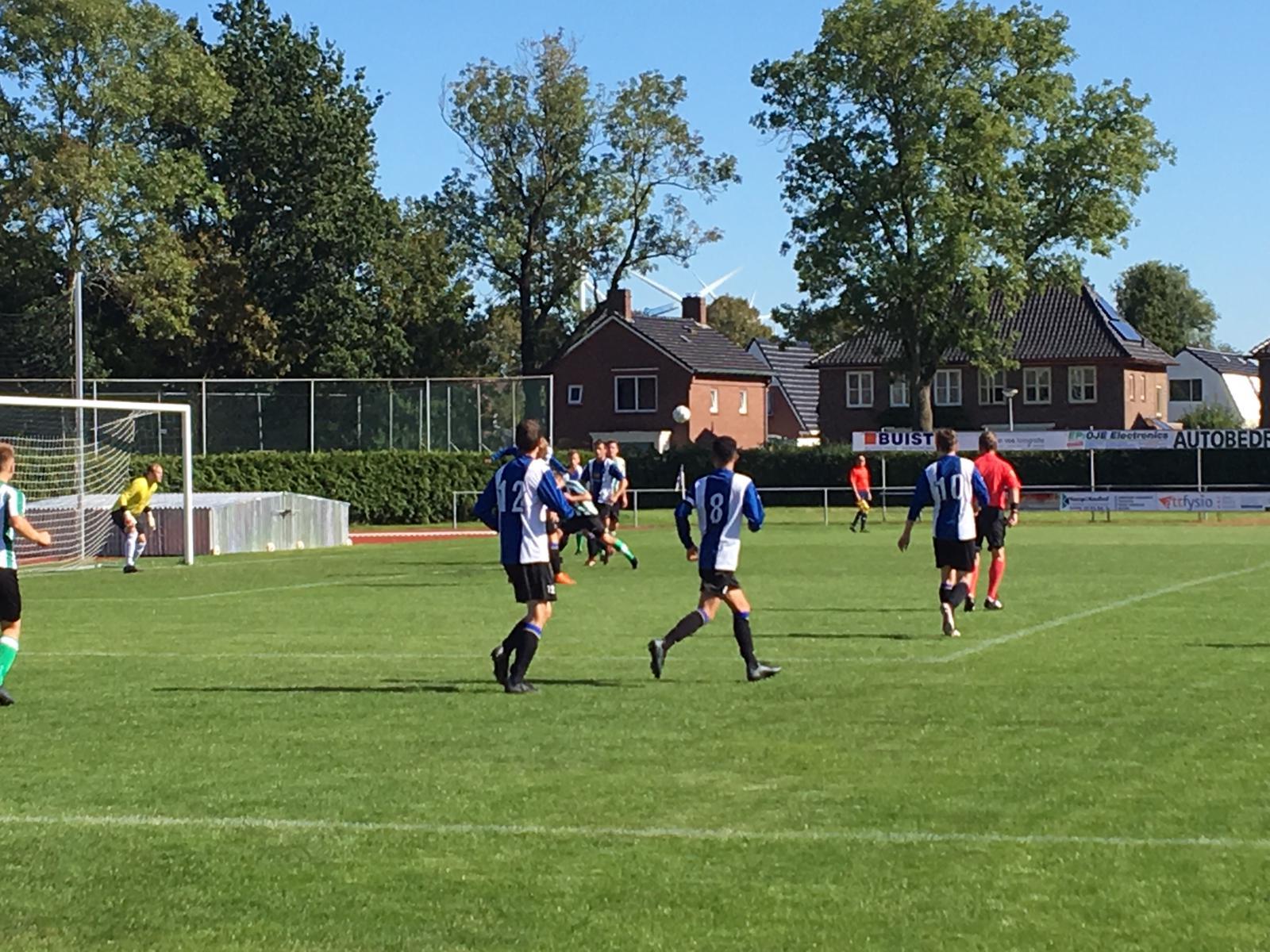 Gramsbergen wint uit bij NEC Delfzijl.