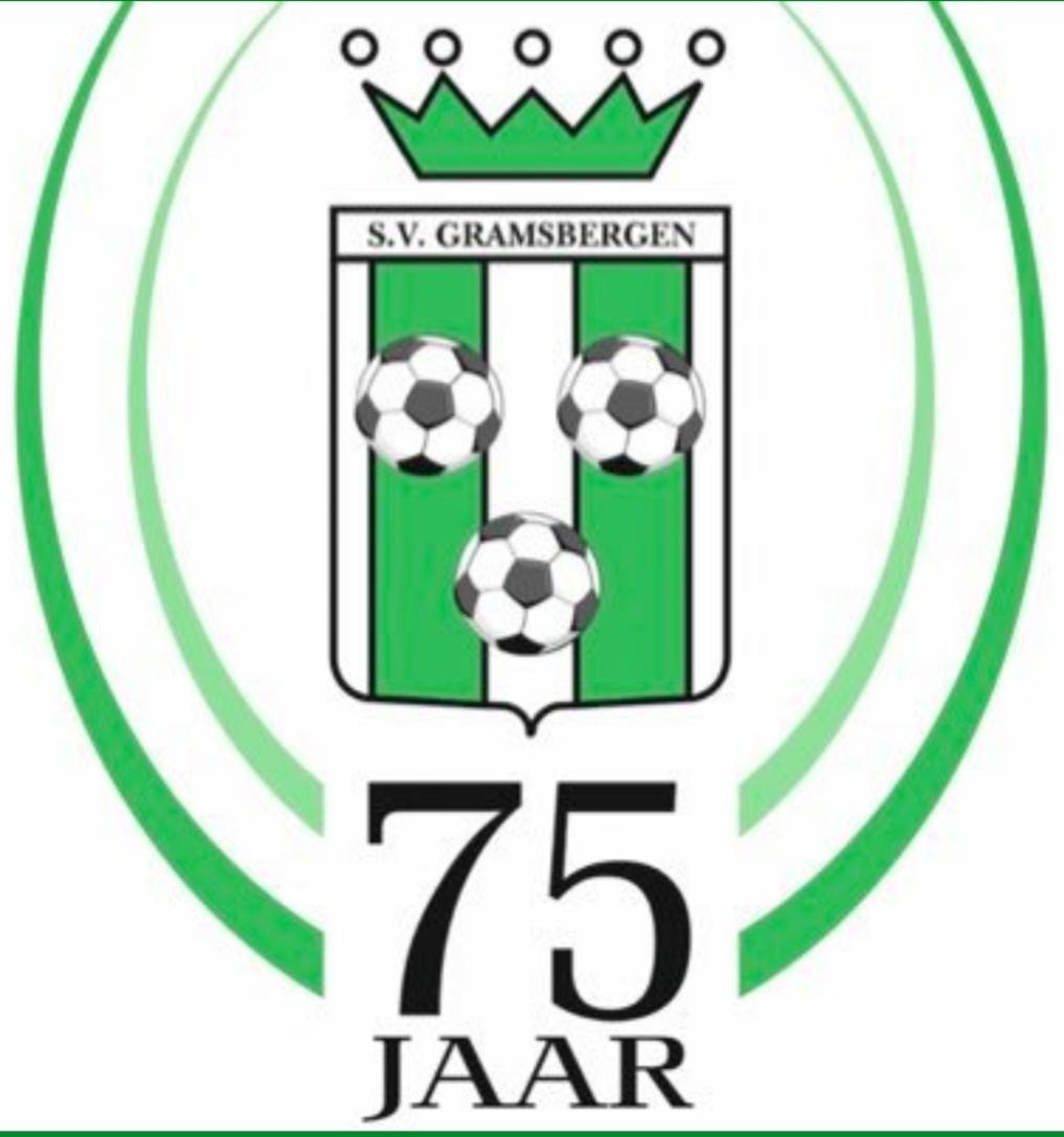 Passend voetbal SV Gramsbergen laat zich van zijn goede kant zien.